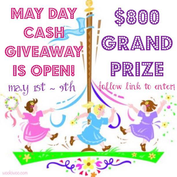 Mother's Day May Day Giveaway - Dogs Don't Eat Pizza