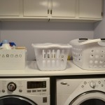 DIY Laundry Room Folding Counter