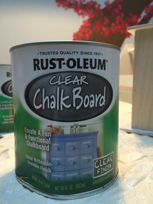 Rust-Oleum Clear Chalkboard Paint - Dogs Don't Eat Pizza