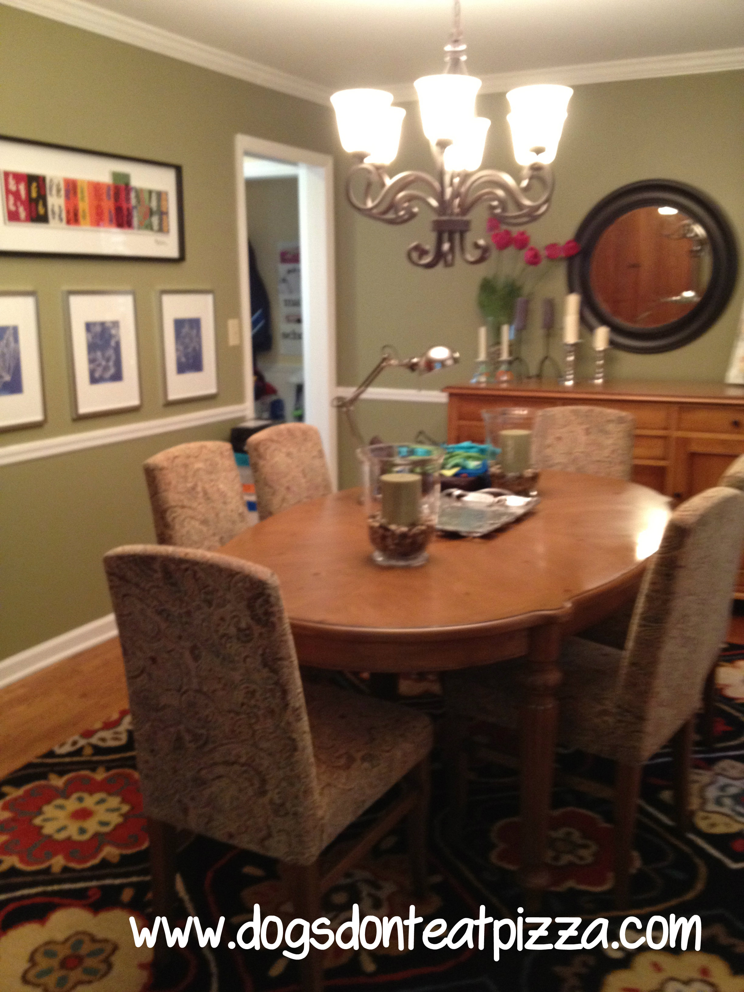 Issues when designing a dining room - dining room in old house - thediybungalow.com