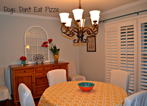 Light and bright modern dining room - thediybungalow.com