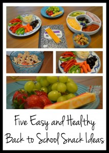 Five easy and healthy back to school snack ideas from Dogs Don't Eat Pizza