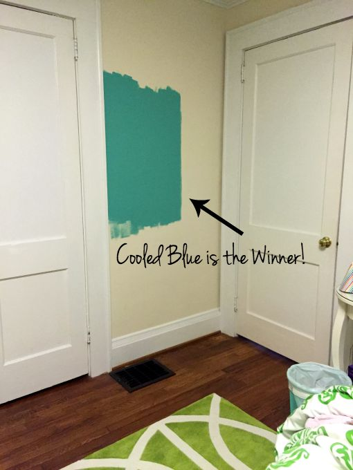 Cooled Blue for M's room - choosing paint color - Dogs Don't Eat Pizza