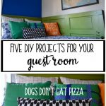 The Friday Five: Five DIY Projects for Your Guest Room