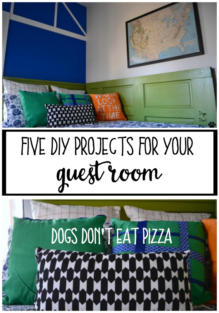 Five DIY Projects for Your Guest Room - thediybungalow.com