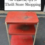 Top Five Tips for Shopping at Thrift Stores