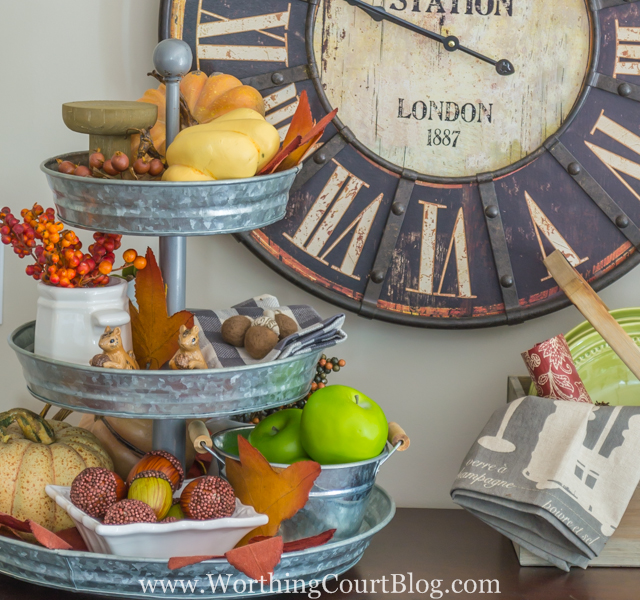 WorthingCourt Kitchen Fall Decor - all things fall - Dogs Don't Eat Pizza