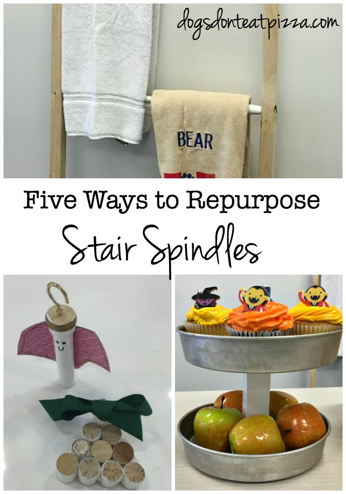 Five Ways to Repurpose Stair Spindles - thediybungalow.com