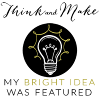 Featured at Think and Make Thursday