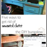 Five Ways to Get Rid of Unwanted Clutter (Friday Five)
