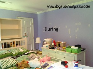 When your child asks to have her room painted a bold or bright color, just paint the room. At thediybungalow.com