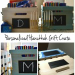 Sawdust and Snow: Personalized Hanukkah Gift Crate