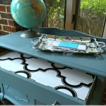 Using Chalk Style Paint to Give a Vintage Chest a Fresh Start