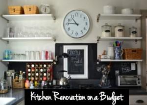Kitchen Renovation on a Budget - thediybungalow.com