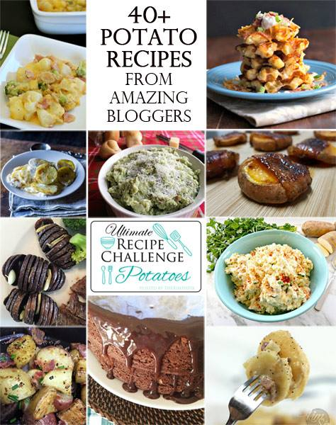 40plus potato recipes linkup