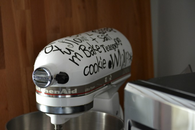 Decorated KitchenAid Mixer - thediybungalow.com