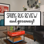 Spring Rug Review and Giveaway from Mohawk Home