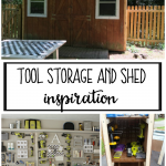 Tool Storage and Shed Inspiration