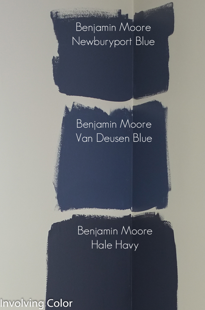 Choosing-navy-paint-colors- Involving Color - thediybungalow.com