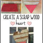 DIY Scrap Wood Heart