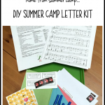 DIY Summer Camp Letter Kit