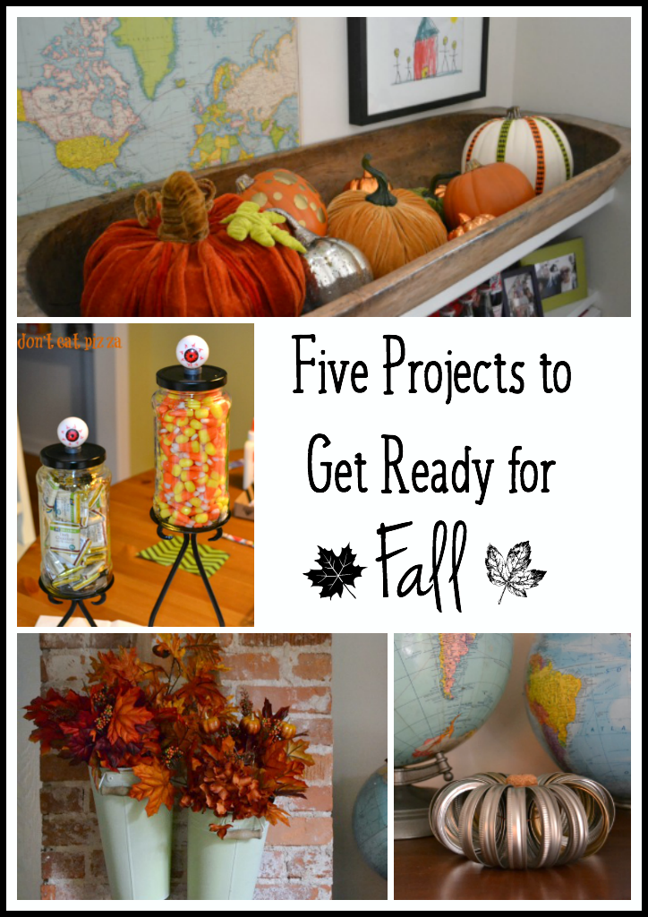 Five projects to get ready for fall - thediybungalow.com