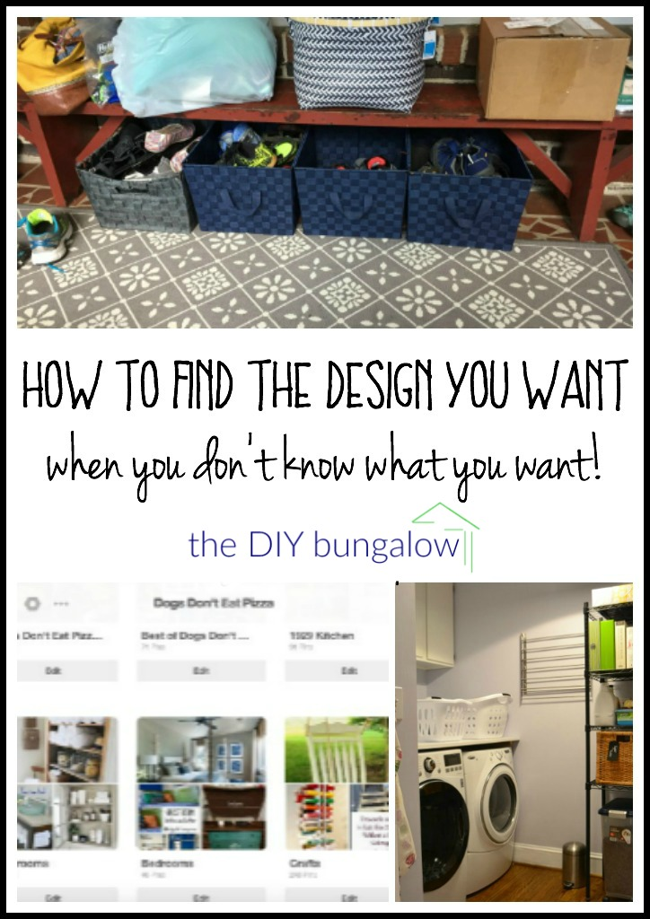 How to find the design you want (when you don't know what you want) - thediybungalow.com
