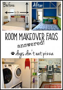 Room Makeover FAQs - thediybungalow.com