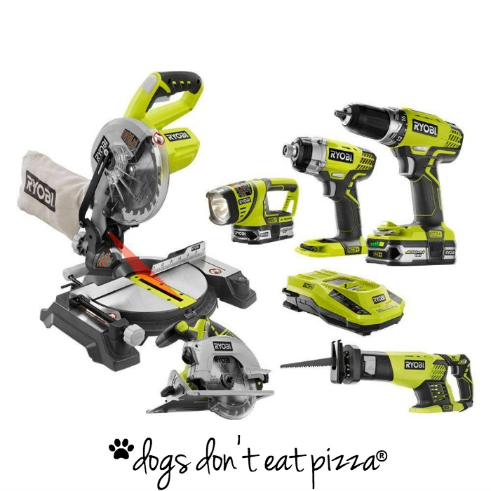 Power Tool Challenge - $10 or less reader challenge - thediybungalow.com