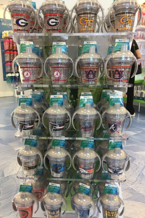 Sippy cups - Tervis Grand Opening - thediybungalow.com