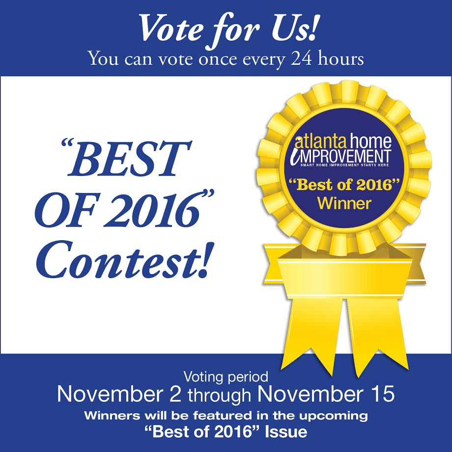 Please vote for Dogs Don't Eat Pizza as Best Blog: DIY at Atlanta Home Improvement Magazine - thediybungalow.com