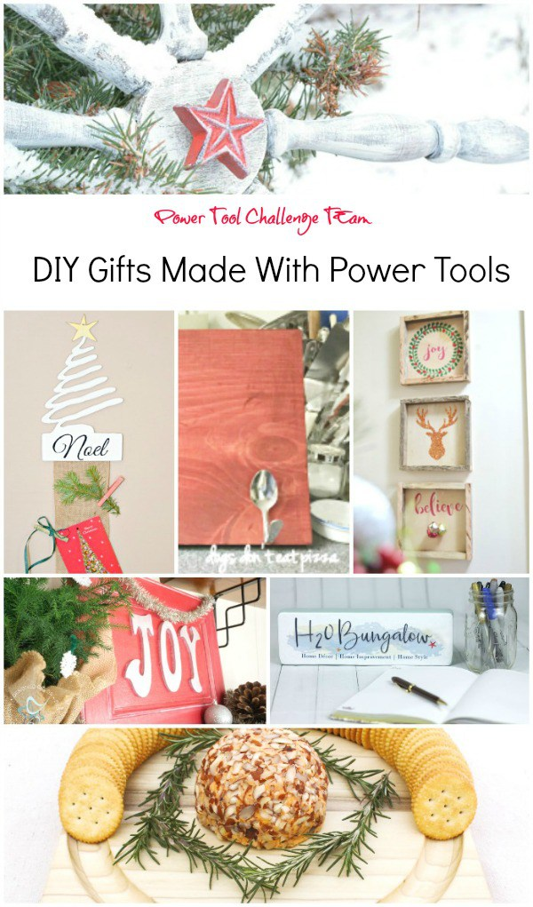 Power Tool Challenge - DIY Gifts Made with Power Tools - thediybungalow.com