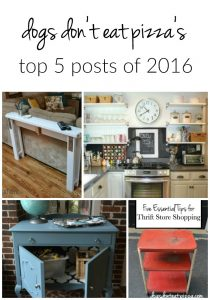 Top 5 Posts of 2016 - Friday Five - thediybungalow.com