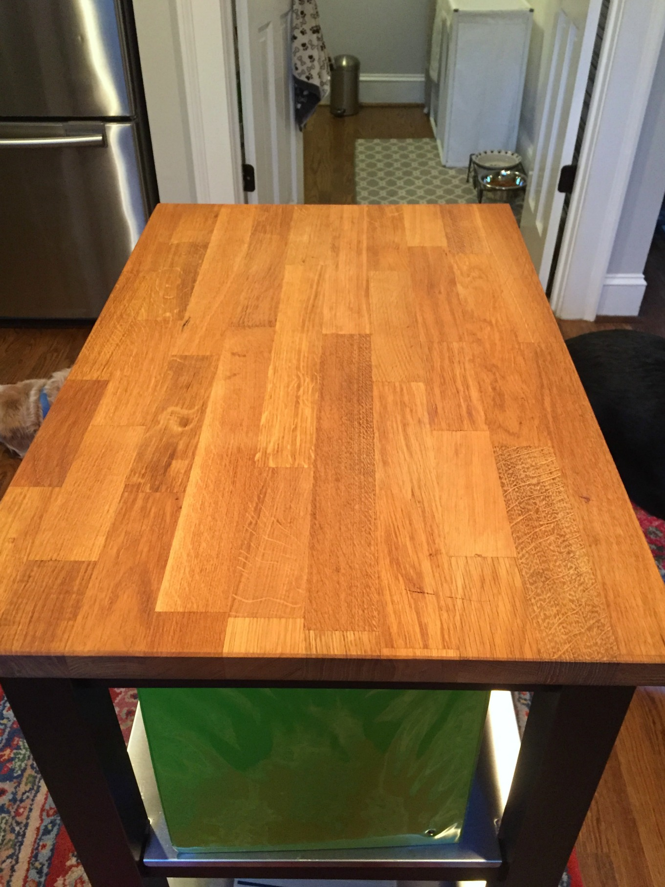 Butcher block revived following these three easy steps - thediybungalow.com