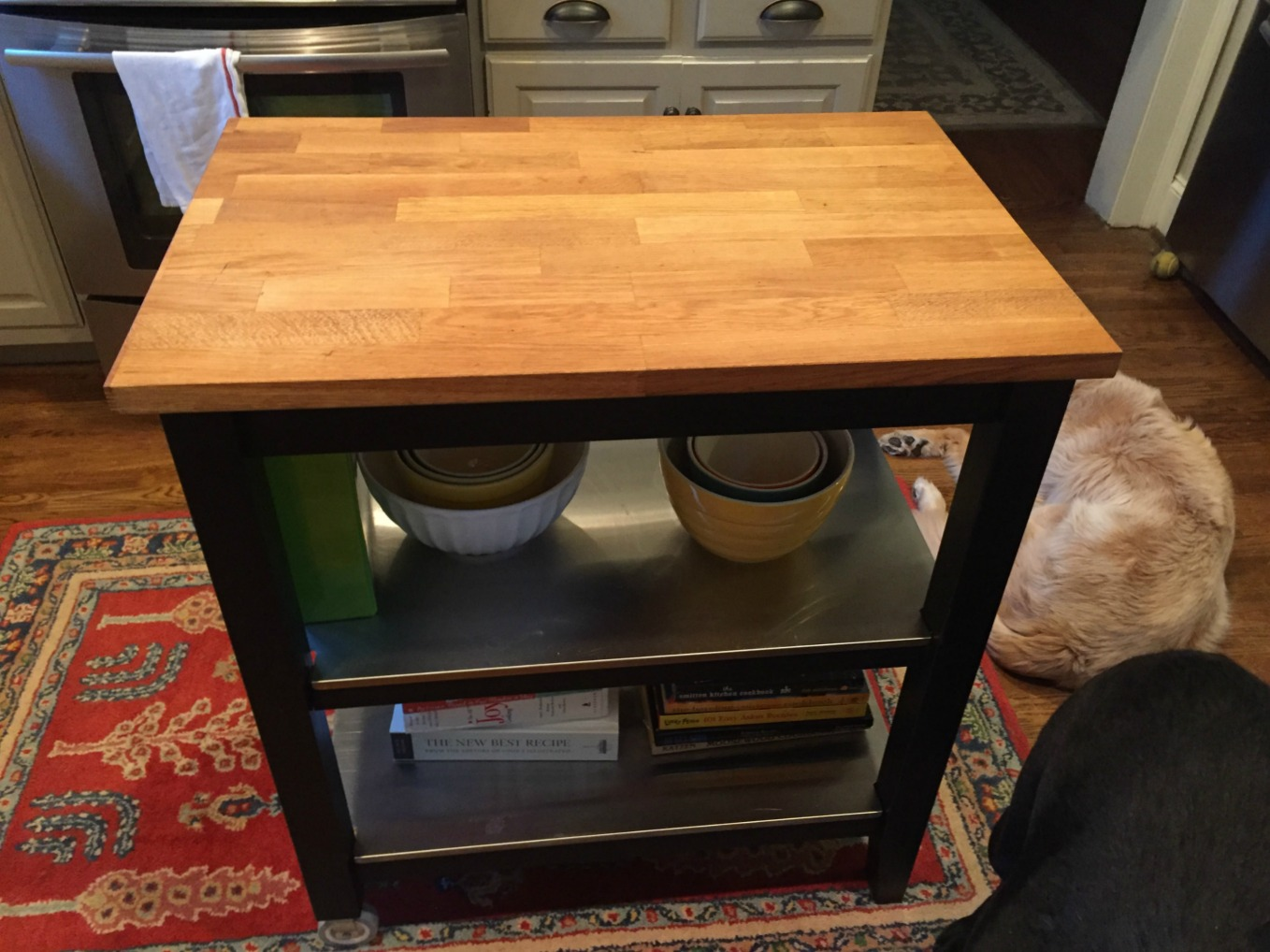 How to revive old butcher block - thediybungalow.com