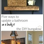 Five Ways to Update a Bathroom on a Budget