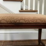 DIY Faux Fur Foot Stool (Power Tool Challenge)