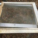 DIY Fireplace Screen | Repurposed Window Screen