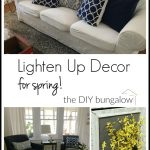 Lighten Up Decor for Spring