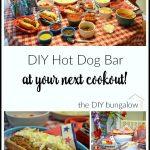 Have a DIY Hot Dog Bar at Your Next Cookout