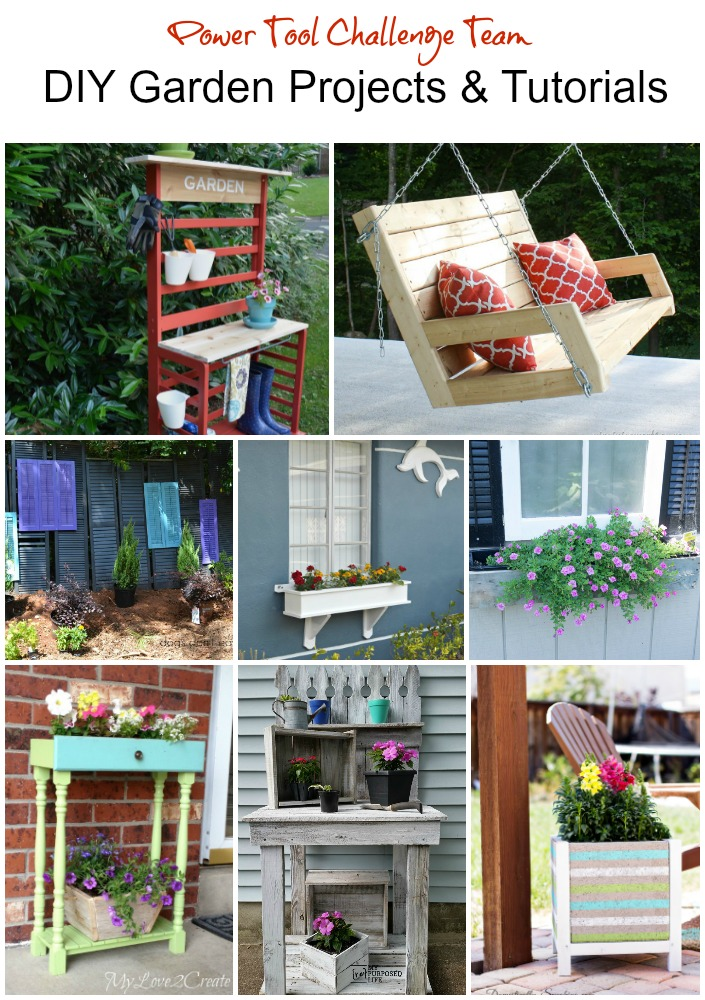 Power Tool Challenge DIY Garden Projects Tutorial