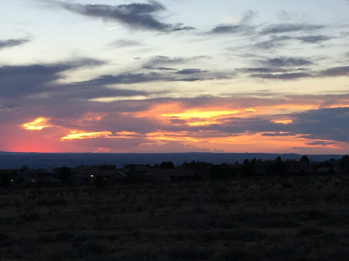 New Mexico sunset - thediybungalow.com