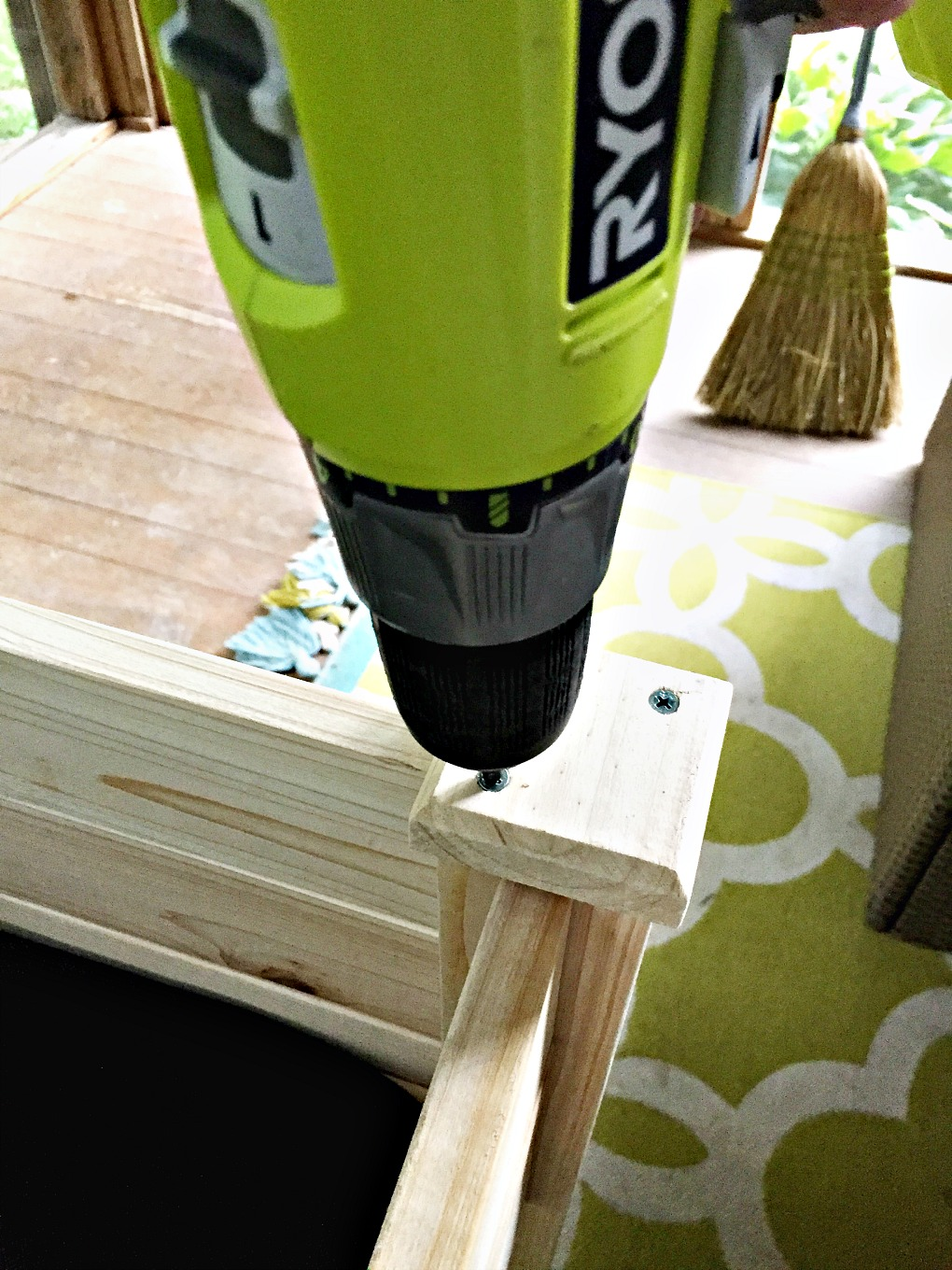 One of two tools needed to build a raised garden bed - thediybungalow.com