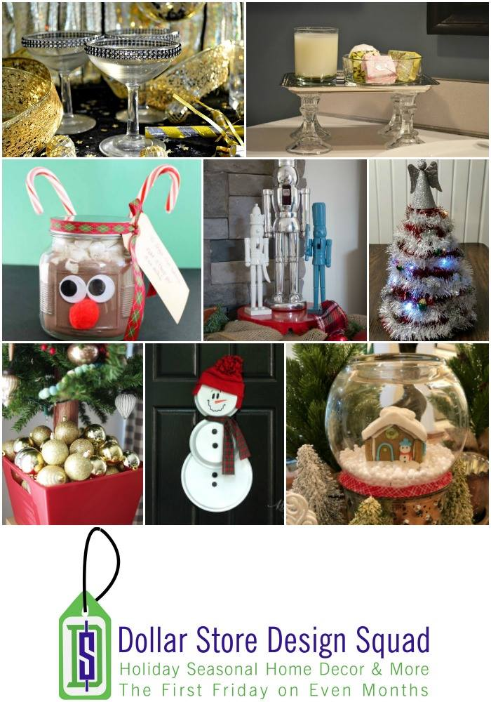 Dollar Store Design Squad December Challenge - thediybungalow.com