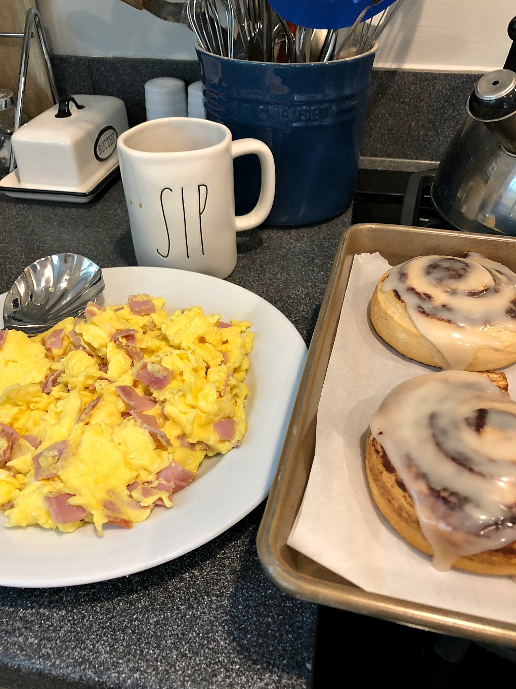 Beast mode breakfast for game day is today's entry for thirty days of gratitude - thediybungalow.com